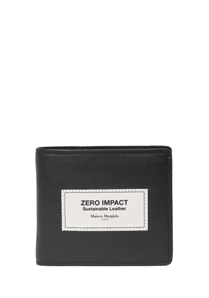 Label Eco Leather Billfold Wallet