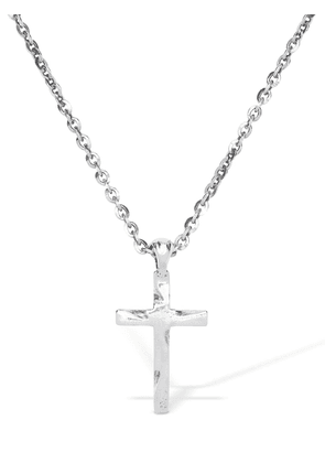Cross Charm Long Necklace