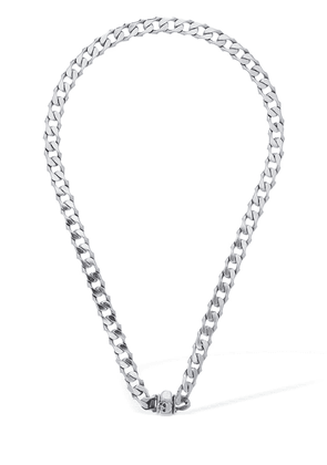Cuban Silver Chain Necklace