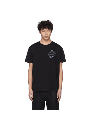 Givenchy Black Flowers T-Shirt