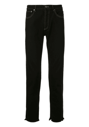 Givenchy slim cropped jeans - Black