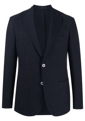 Eleventy fitted buttoned blazer - Blue
