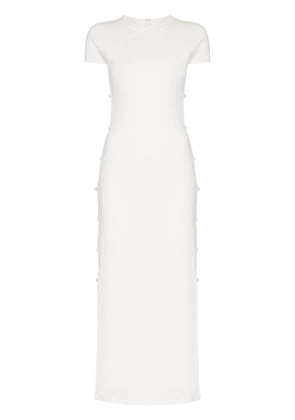 Marcia Tchikiboum midi dress - White