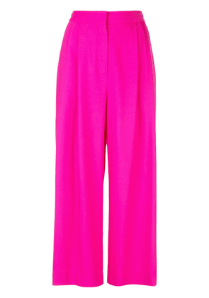 Adam Lippes pleated front culottes - PINK