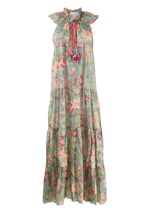 Anjuna Ludovica floral-print dress - Blue