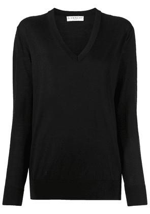 Givenchy side buttons jumper - Black