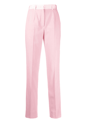 Dolce & Gabbana front pleat tailored trousers - PINK