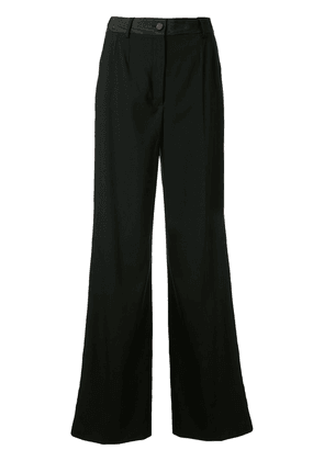 Dolce & Gabbana wide-leg tailored trousers - Black