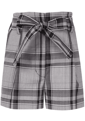 3.1 Phillip Lim Plaid High Waist Short - MULTI