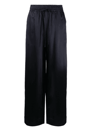 Co high-rise flared trousers - Blue