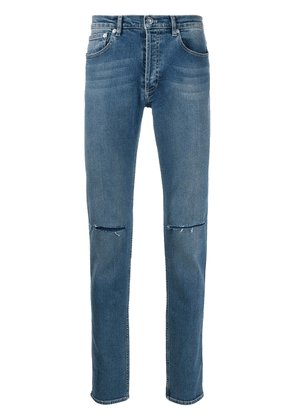 Givenchy mid-rise straight leg jeans - Blue