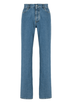 Maison Margiela stitching detail straight-leg jeans - Blue