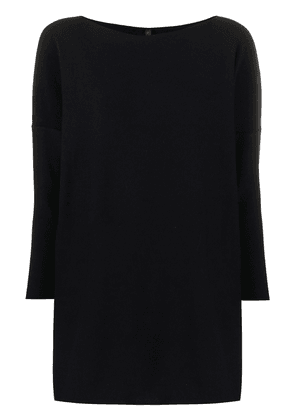 Daniela Gregis crew neck long sleeved jumper - Blue