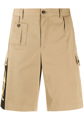 Dolce & Gabbana Bring Me To The Moon cargo shorts - NEUTRALS