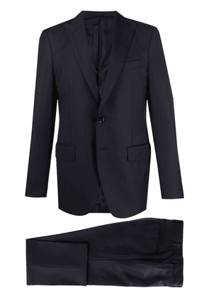 Dell'oglio single-breasted two-piece suit - Blue