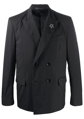 Valentino double-breasted STAR jacket - Black
