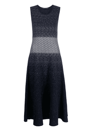 Antonino Valenti knitted sleeveless long dress - Blue