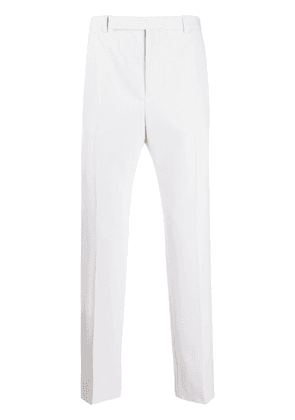 Saint Laurent pleated detail tailored trousers - Neutrals