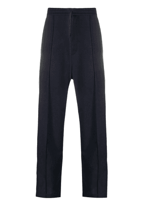 Maison Margiela darted drawstring pants - Blue