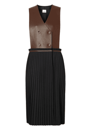 Burberry pinafore-style dress - Black