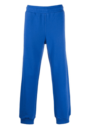 Givenchy printed details track pants - Blue