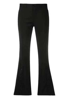 Each X Other x Austyn The Birds We Shoot button flare trousers - Black