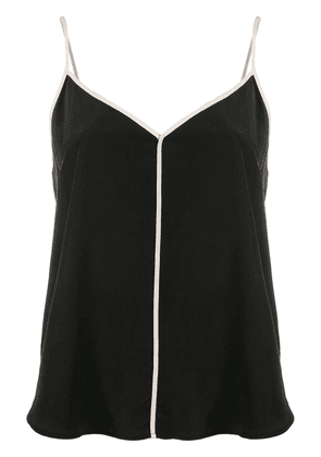 Equipment contrast piped camisole - Black