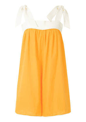 Clube Bossa Paddy wide fit playsuit - ORANGE