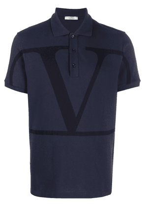 Valentino VLOGO short-sleeve polo shirt - Blue