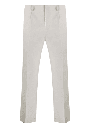 Givenchy cropped straight-leg trousers - Grey
