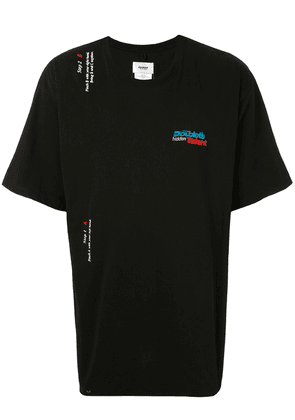Doublet logo-embroidered T-shirt - Black