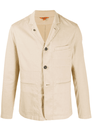 Barena relaxed fit buttoned shirt jacket - NEUTRALS