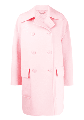 Givenchy double-breasted oversized coat - PINK