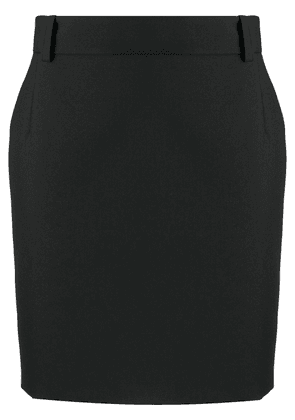 Balenciaga fitted miniskirt - Black