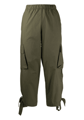 Danielapi cropped cargo trousers - Green