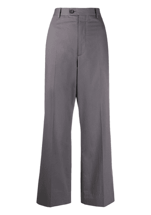 Maison Margiela cropped wide-leg trousers - Grey