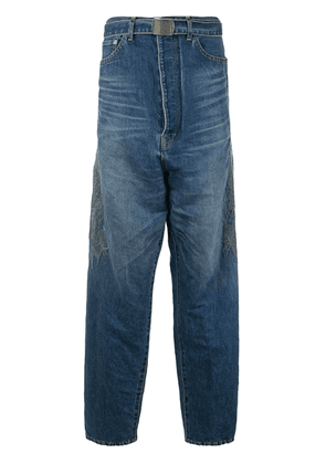 Doublet embroidered jeans - Blue