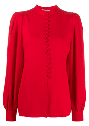 Givenchy Juliet sleeves shirt - Red