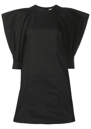 Givenchy exaggerated shoulders dress - Black