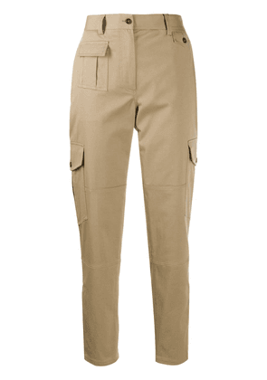 Dolce & Gabbana utility pocket tapered trousers - NEUTRALS
