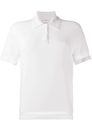 Barrie terrycloth polo shirt - White