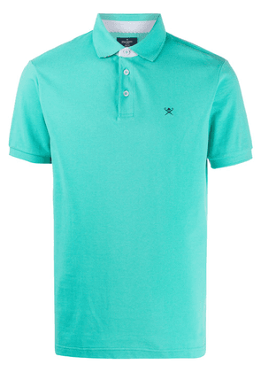Hackett logo embroidered polo shirt - Green