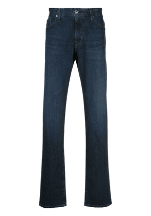 AG Jeans Graduate mid-rise straight jeans - Blue