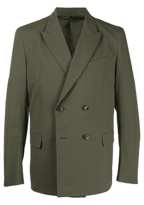 Valentino double-breasted blazer - Green