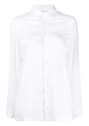 Neil Barrett slim button-up shirt - White