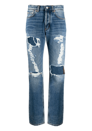 Givenchy ripped distressed jeans - Blue