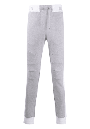 Balmain slim-fit track pants - Grey