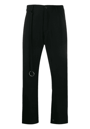 Ann Demeulemeester tailored trousers - Black