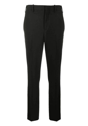 Neil Barrett pleated detailed chinos - Black
