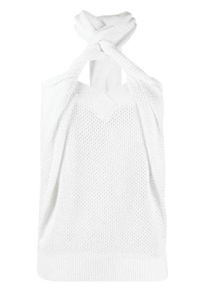 Givenchy knitted top - White